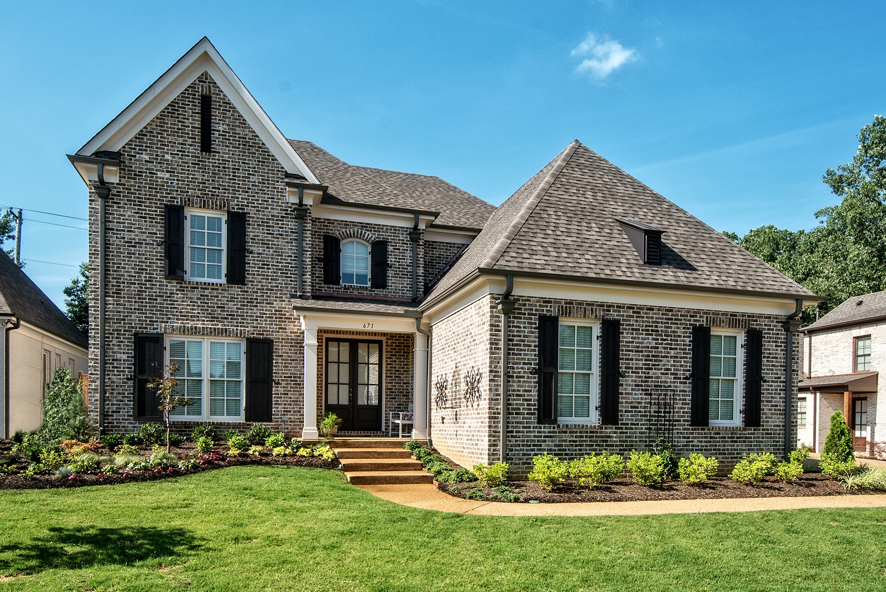 Stoneleigh custom home memphis sklar group new homes Custom home builders arkansas